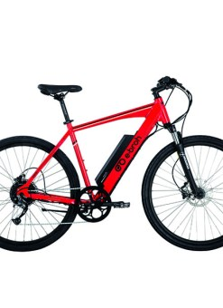 Bicicleta Eléctrica ebroh Cierzo Rojo