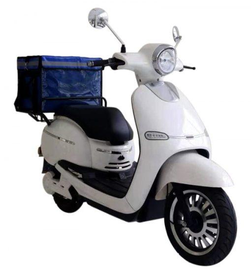 Scooter eléctrico Spuma cargo blanco