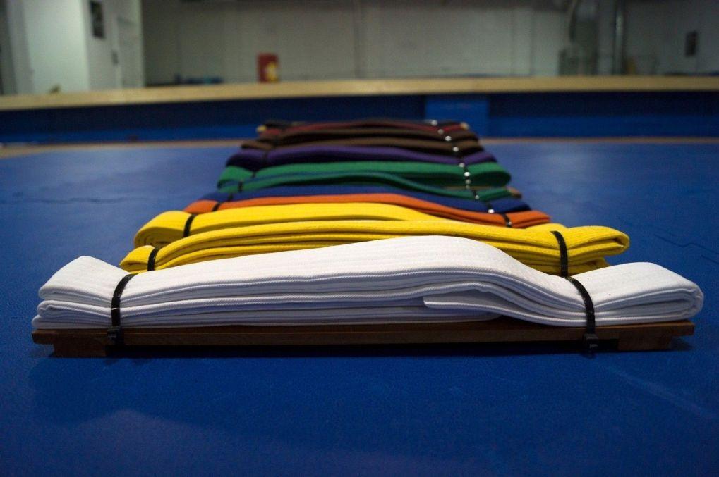 Cinturones de Colores en Kárate