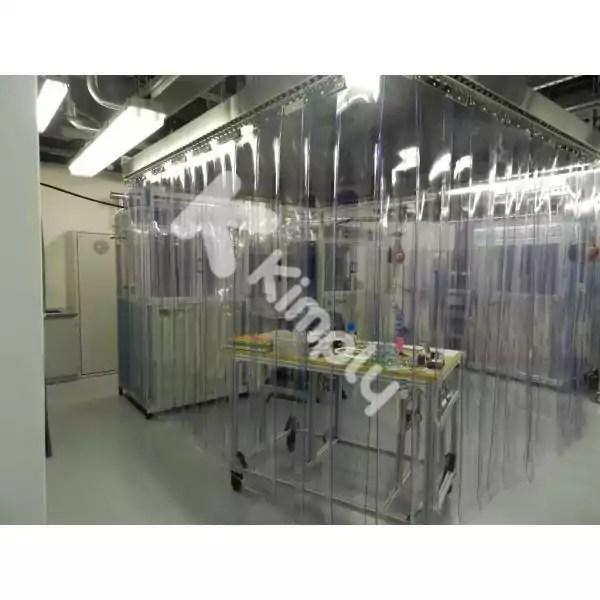 rideaux a lamelles plastiques fixes