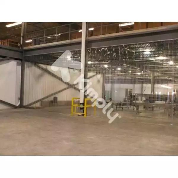 rideau industriel plastique atelier