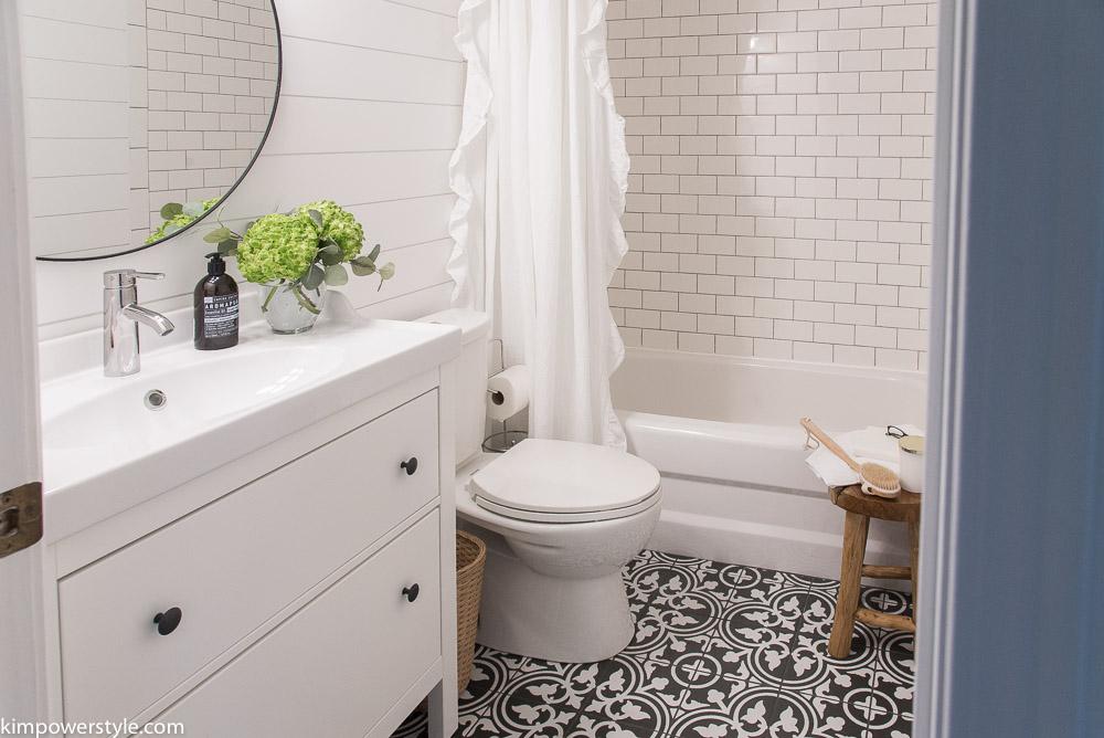 One Room Challenge | Modern Farmhouse Bathroom | The ... on Modern Farmhouse Shower  id=54681