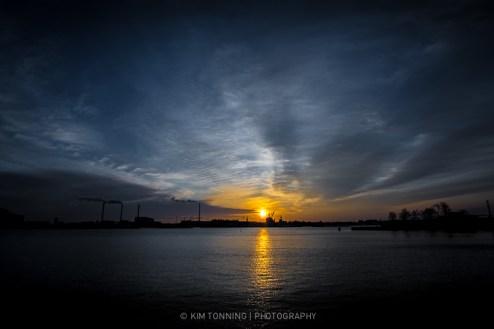 Sunrise @ cph habour