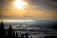 Oslo - from Holemnkollen