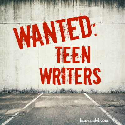 Wanted: Teen Writers