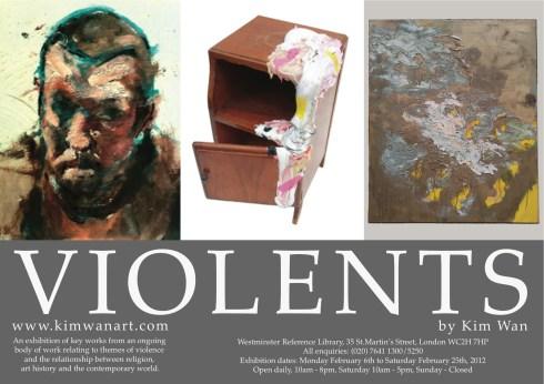 'VIOLENTS' poster 2012