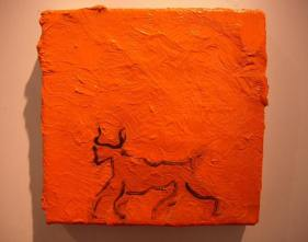 Bull Tryptich (central panel) 2005