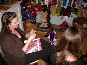 Babette lesson at Urban Yarns