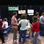 Mighty Ugly booth in action
