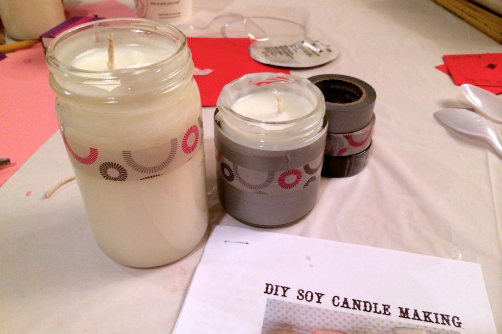 Soy Candle-making Class at Craftcation