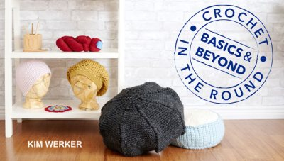 Learn all about crocheted circles, hats and pillows in my class Crochet in the Round: Basics & Beyond!