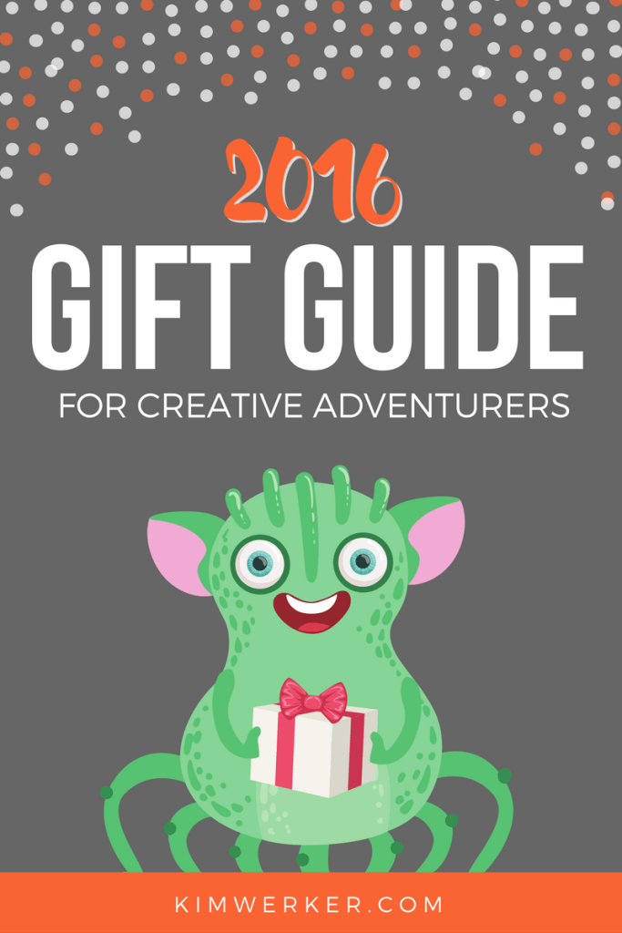 2016 Gift Guide for Creative Adventurers - http://kimwerker.com/blog