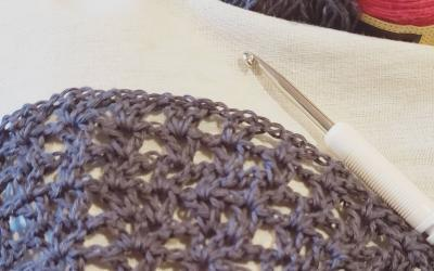 What I'm Making: A Crocheted Pi Shawl