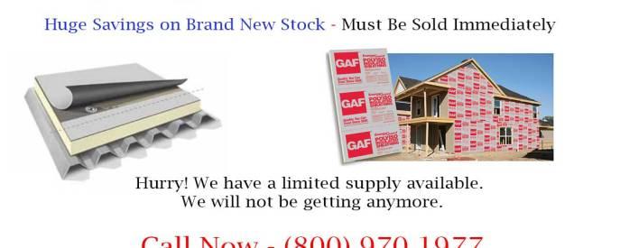 GAF Rigid Energy Guard ISO Insulation Board Closeout
