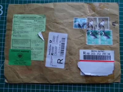 Post aus Hongkong