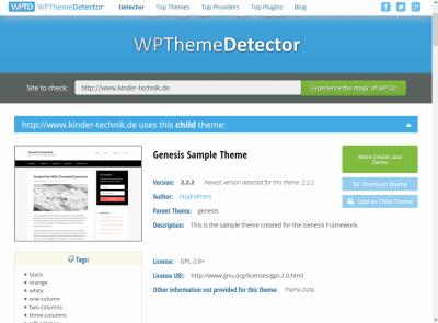 WordPress- Welches Theme oder Plugin ist das?