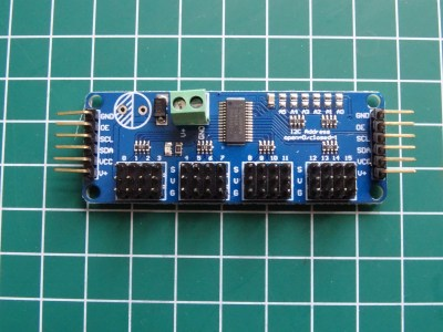 China Post – PCA9685 16-Channel 12-bit PWM Servo Motor Driver