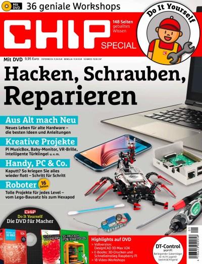 Chip Sonderheft 2016 Hacken, Schrauben, Reparieren