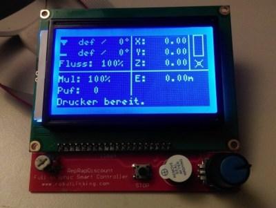 Prusa I3 Hephestos mit Repetier Firmware