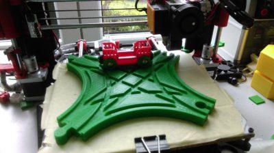 Brio Gleisknoten aus dem 3D-Drucker