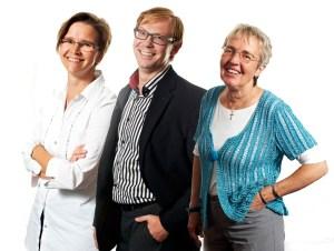 Christiane, Werner und Gabi unsere Meister und Pädakustiker