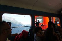 Zahnradbahn zum Montenvers Aussichtspunkt