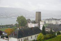 Aussicht Seilbahn Rüdesheim