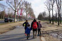 ein sonniger Spaziergang vom Arc de Triomphe zum Place de la Concorde (2,3km)