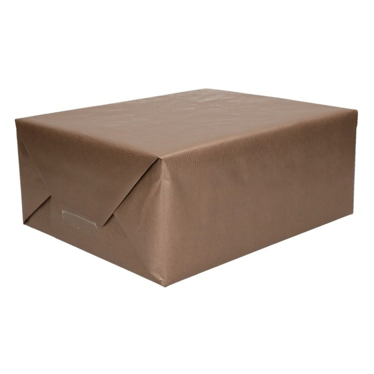 Bruin kraftpapier op rol 200 cm