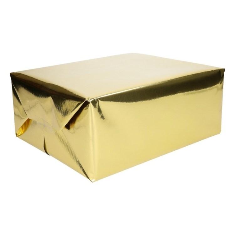 Inpakpapier goud metallic 400 x 50 cm