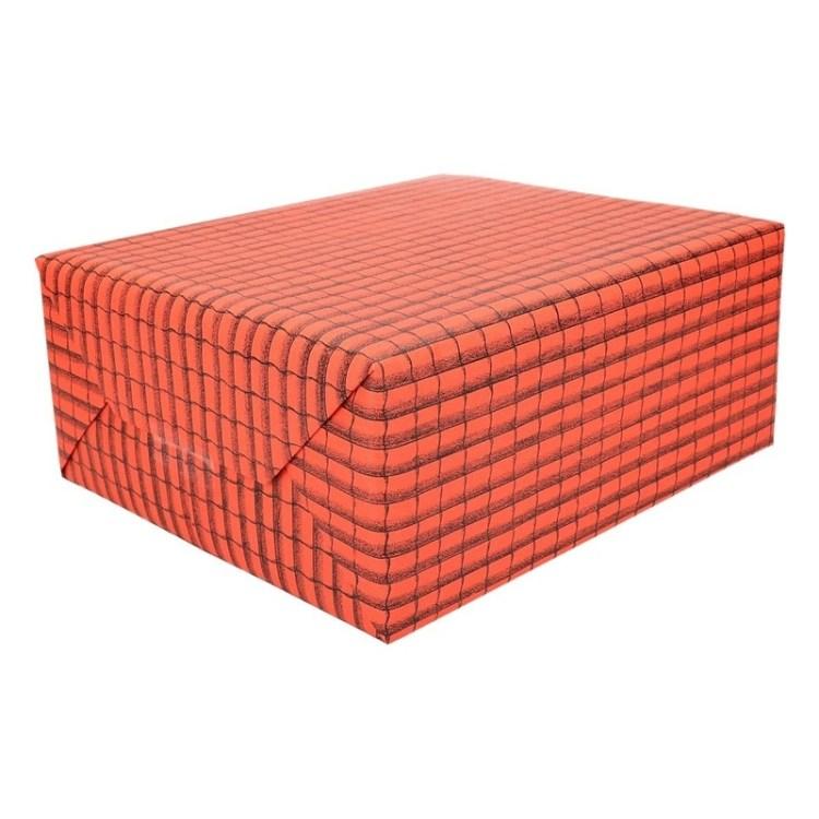 Rol met 2 vellen dakpan papier 50 x 70 cm