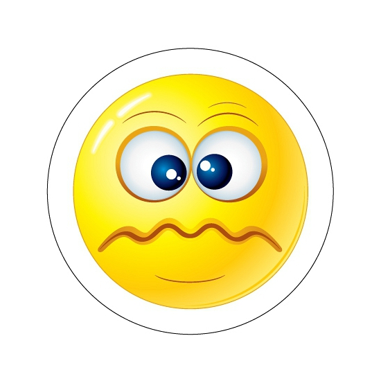 Schele Smiley stickers type 5