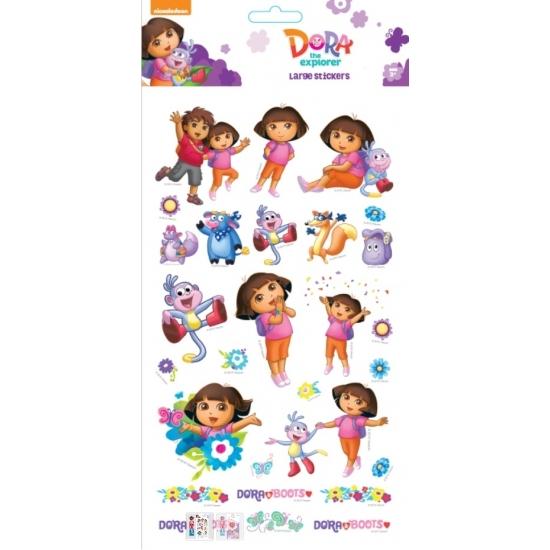 Stickerset Dora groot