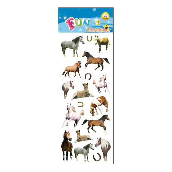 Stickersetje pony