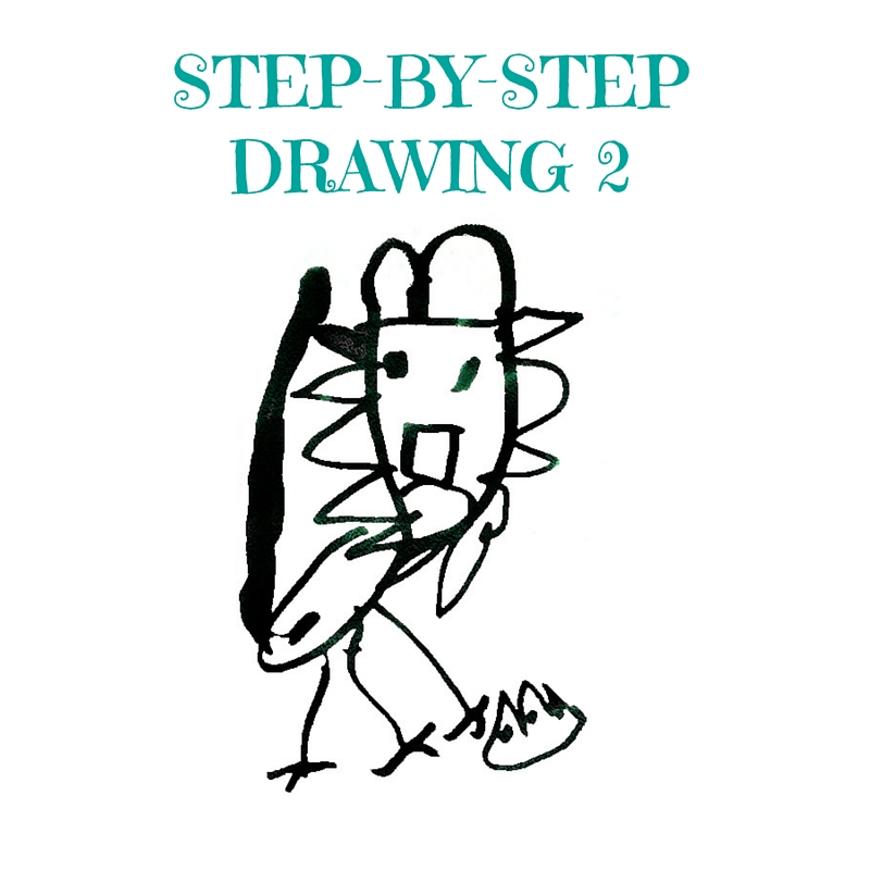step by step drawing 2 - Drawing Pictures For Kindergarten