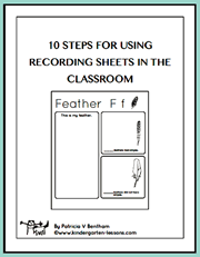 10 Steps to Using Recording Sheets in the Classroom