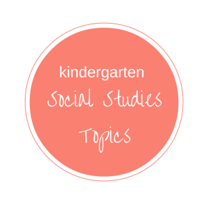KINDERGARTEN SOCIAL STUDIES TOPICS