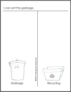 Recycling For Kids 2 Kindergarten Lessons Recycling Worksheets For High School Recycling Worksheets For Kids