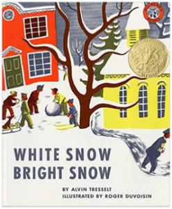 Winter teaching literacy books