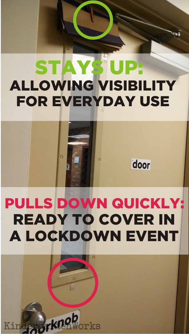 easy how to make a lockdown shade
