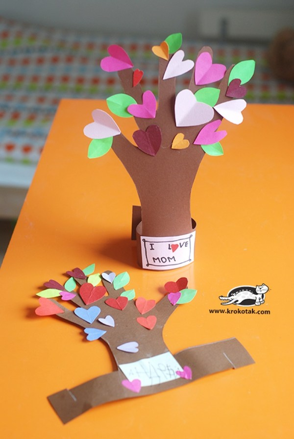 13 Creative and Sweet Kindergarten Mother's Day Crafts ...
