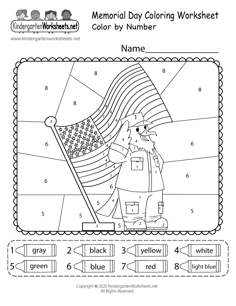 Preschool Presidents Day Coloring Pages