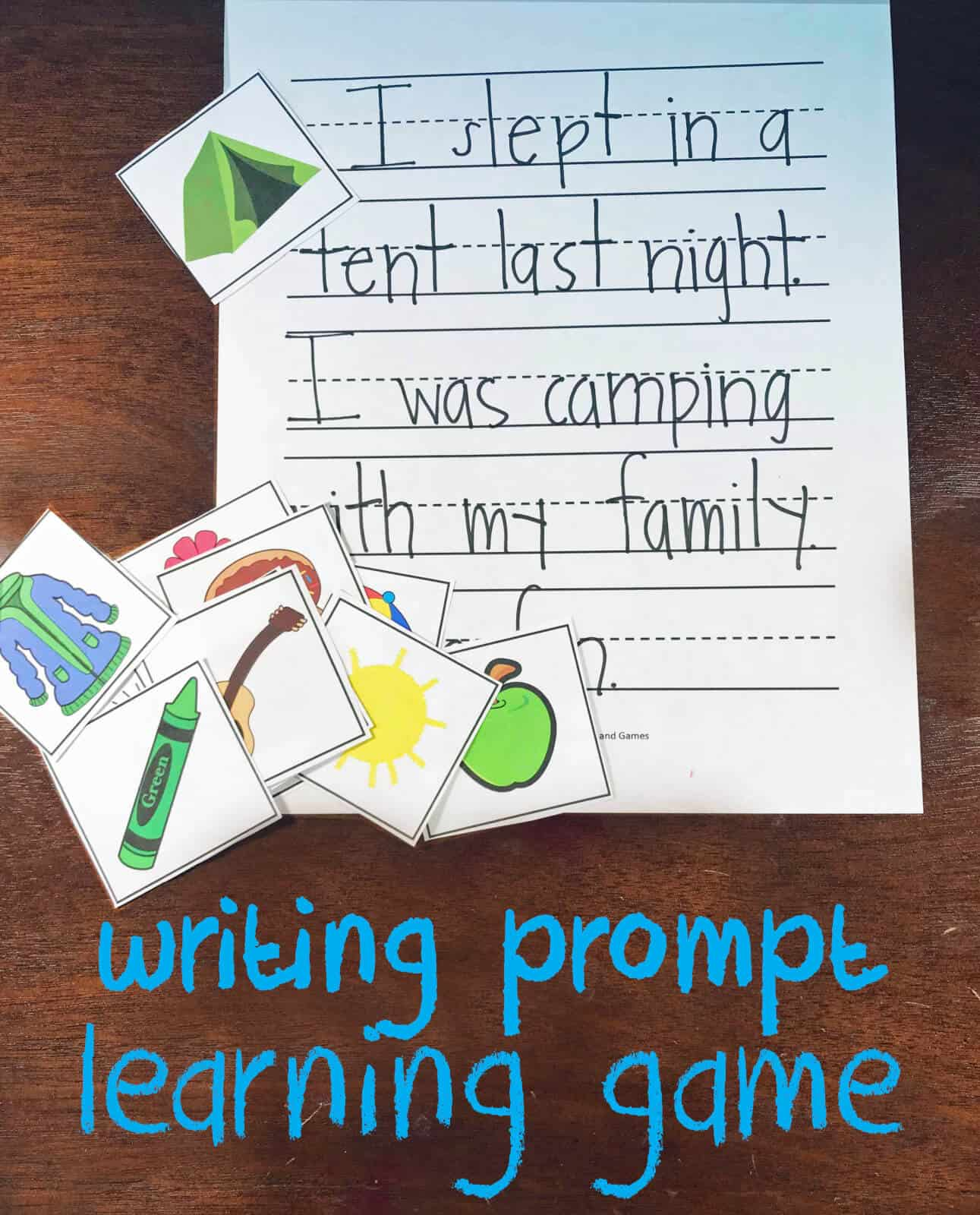 Free Picture Writing Prompts Kindergarten Worksheets And