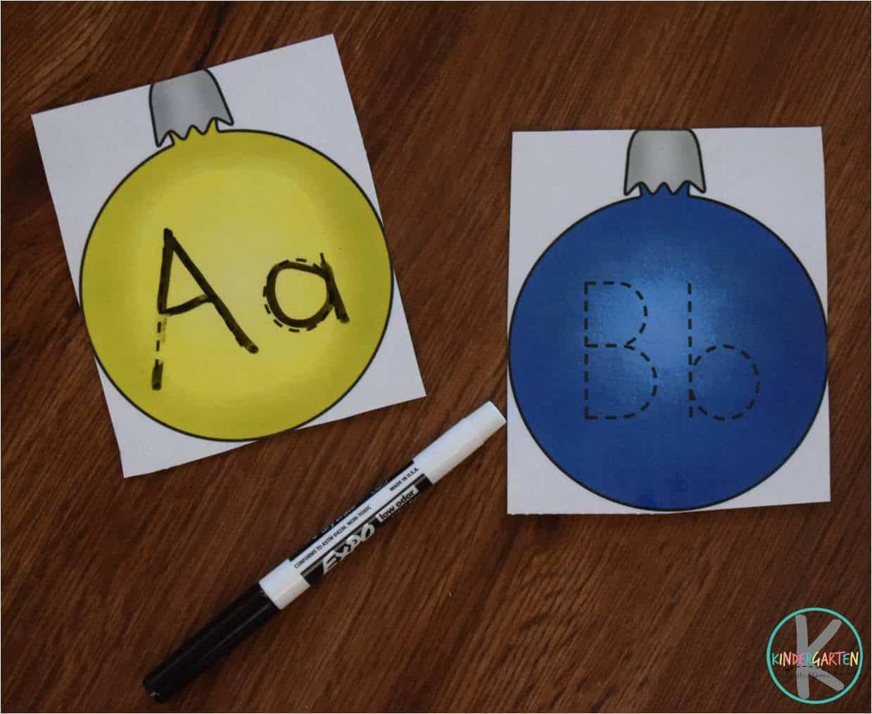Free Alphabet Ornaments Trace Amp Erase