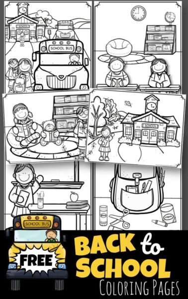 free preschool coloring pages # 29