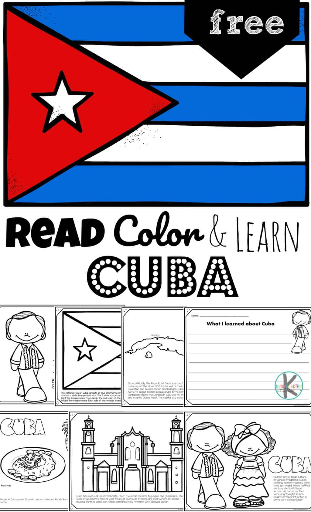 Free Read Color And Learn About Cuba