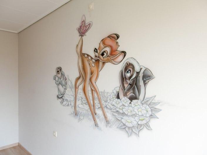 Bambi en stampertje