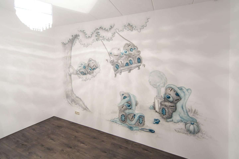 Schommel In Kinderkamer : Beertjes boom kinderkamer kinderkamer muurschilderingen