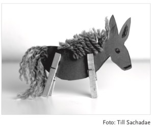 gebastelter Esel