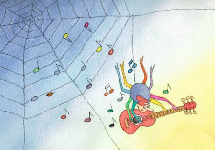 Musikspinne